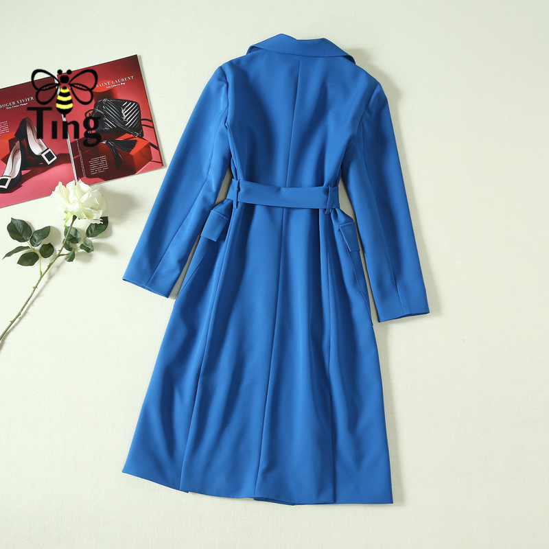 G368568 Мода 2019 лето OL элегантное Полосатое платье с v образным вырезом - 5