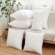 Almohada de relleno interior para Hotel y Casa, cojín acolchado de algodón blanco para cabecero, no tejido con tela de lana, 30x3 0/35x3 5/40x4 0/45x45cm