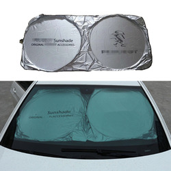 Car Front Windshield Sunshade Accessories For Peugeot 307 308 407 206 207 3008 406 208 2008 508 408 306 301 106 107 607 4008 500