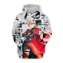 Tessffel Cartoon Anime Naruto Harajuku casual Tracksuit 3D Pullovers Print Hoodie/Sweatshirt/Jacket/shirts Mens Womens funny s13