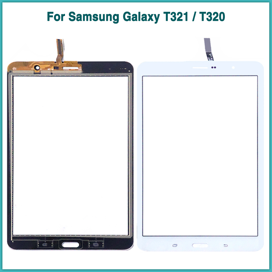 New Touchscreen For Samsung <font><b>Galaxy</b></font> <font><b>Tab</b></font> <font><b>Pro</b></font> <font><b>8.4</b></font> SM-T320 SM-T321 T321 T320 T325 touch screen panel Digitizer <font><b>LCD</b></font> front glass lens image