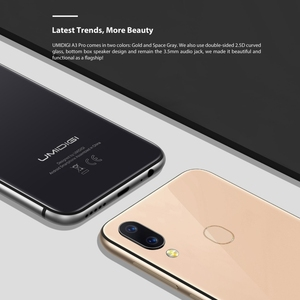 Image 5 - UMIDIGI A3 Pro Global Dual 4G Smartphone 5.7 2.5D Full Screen 3GB+32GB Android 8.1 MTK6739 Quad Core 12MP + 5MP Mobile Phone