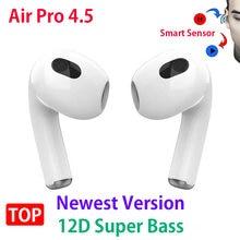 NEUESTE Air Pro 4/4,5 PK Air3 Air Pro 3 4 TWS Drahtlose Kopfhörer Bluetooth Kopfhörer Headsets Sport Ohrhörer airoha 1562H Chip