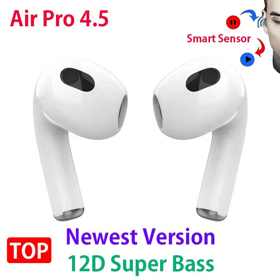 Беспроводные наушники Air Pro 4,5 PK Air3 Air Pro 3 4 TWS, Bluetooth-наушники, гарнитура, спортивные наушники-вкладыши Airoha с чипом 1562H