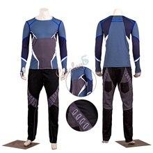 Quicksilver костюм Мстители: эра Альтрона Косплей Pietro Maximoff наряд на заказ