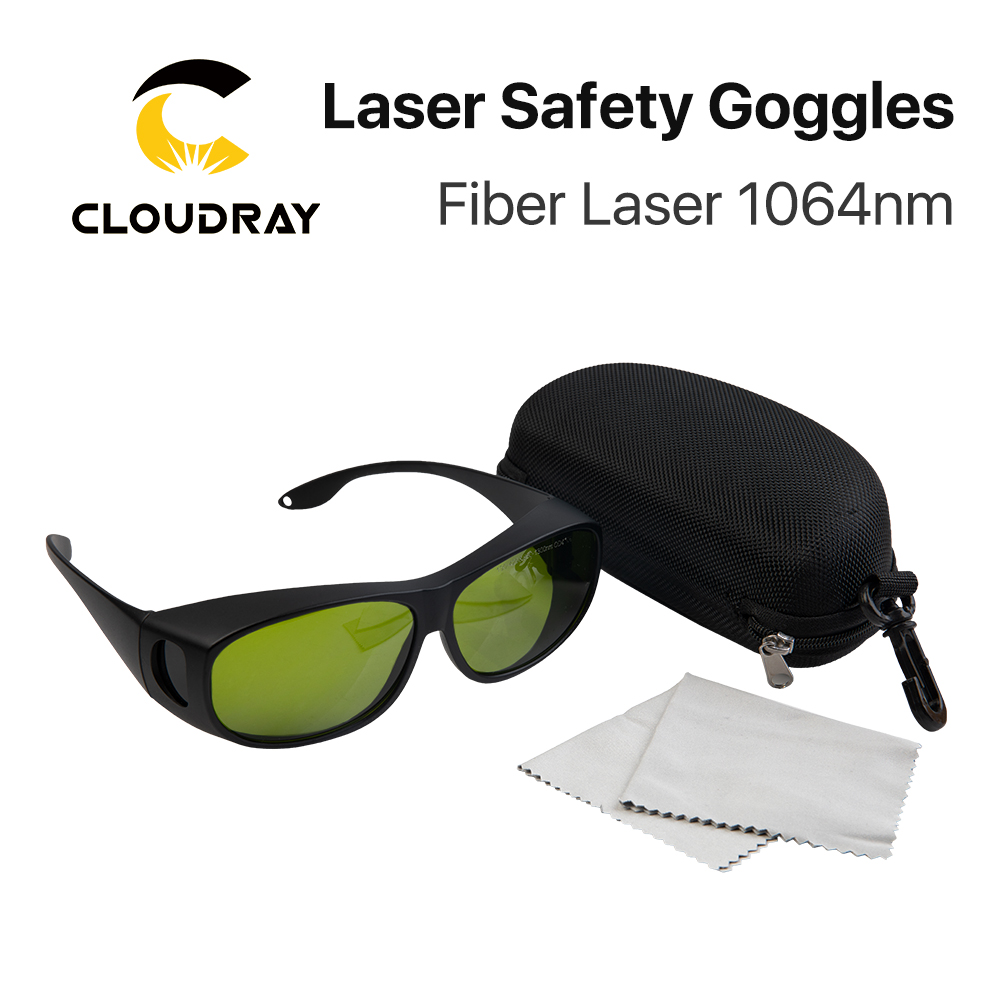 Cloudray 1064nm Style C Laser Safety Goggles Protective Glasses Shield Protection Eyewear For YAG DPSS Fiber Laser