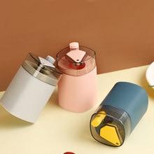 Caixa de palito de dente automático portátil transparente pop-up mesa do agregado familiar caixa de armazenamento de recipiente de palito de dente dispensador
