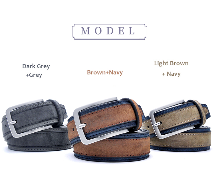 H49c73df81dad4fcb9ed2a36210be65edI - Casual Patchwork Men Belts Designers Luxury Men Fashion Belt Trends Trousers With Three Color To Choose