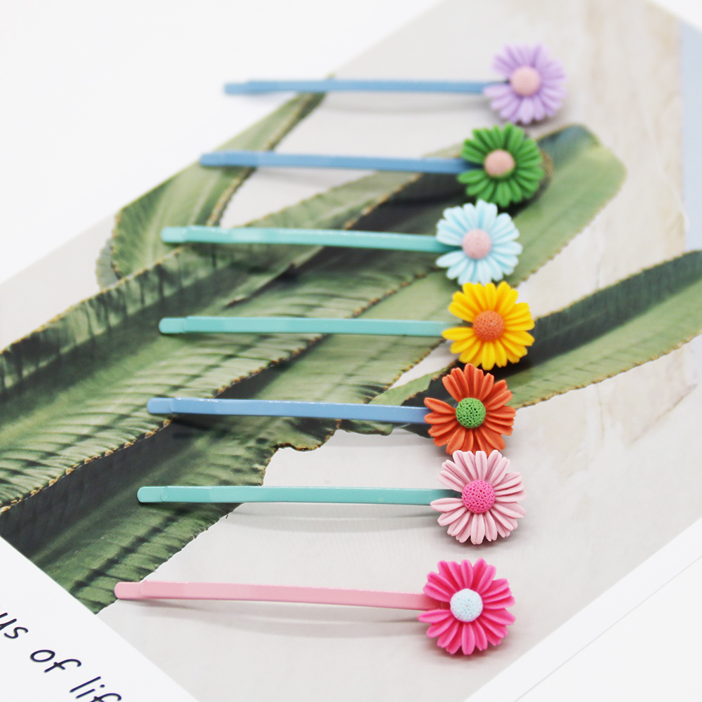 girl hair accessories hairpin women hairpin fashion new product 2020 Decorative hairpin lovely multicolour one card three