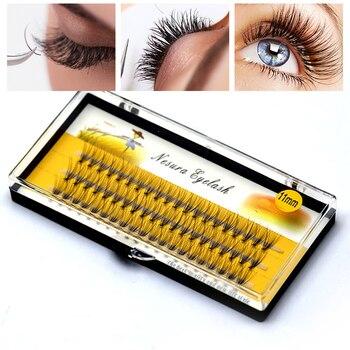 Professional Makeup Individual Cluster EyeLashes Grafting  False Eyelashes eyelash extension individual bunches