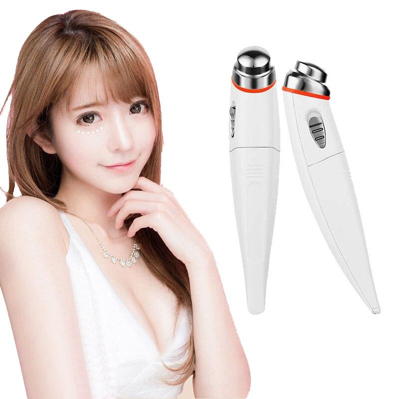 Электрический крем для глаз импортного косметического инструмента мини для тонких линий глаз косметический прибор для массажа глаз