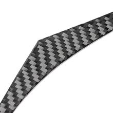 left Hand Drive Real Carbon Fiber Right Dashboard Strip Cover Trim fit for Infiniti Q50