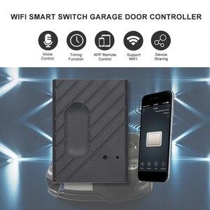 """Image 1 - Interruptor WiFi controlador de abridor de puerta de garaje inteligente Compatible con Alexa, Control por voz de Google IFTTT Smart """"eWeLink"""" APP control"""