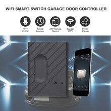 """Przełącznik WiFi inteligentny pilot do drzwi garażowych kontroler kompatybilny z Alexa, sterowanie głosowe Google IFTTT inteligentna kontrola aplikacji """"eWeLink"""""""