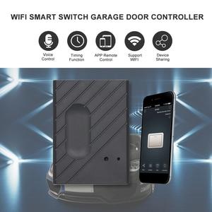 """Image 1 - WiFi Smart Switch Porta Del Garage Opener Controller Compatibile con Alexa, controllo Vocale di Google IFTTT Intelligente """"eWeLink"""" APP di controllo"""