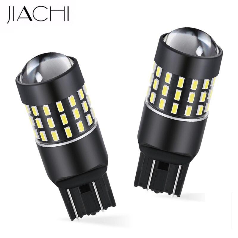 4F09 2Pcs White T20 7443 13 LED SMD Car Auto Vehicle Reverse Light Lamp Bulb 12V