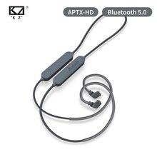 سماعات أذن KZ مزودة بتقنية البلوتوث 5.0 Aptx HD QCC3034 سماعات أذن لاسلكية محدثة كابل مناسب لسماعات الرأس KZ ZAX ZSX ZS10 PRO AS10 ZSTx EDX