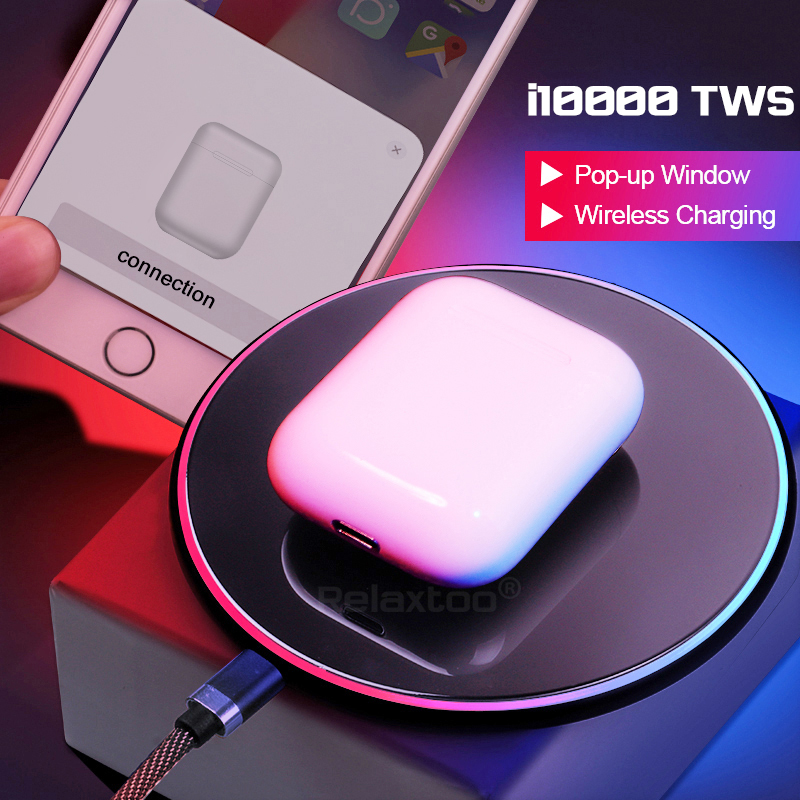 I10000 Tws Wireless Earphone Bluetooth Headset Invisible Earbuds For All Smartphone Pk I100 I200 I500 I800 I900 I1000 I9000 Tws