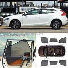 Car Side Windows Magnetic Sun Shade UV Protection Ray Blocking Mesh Visor For Volvo V40