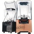 220 v 1000 w profissional resistente liquidificador juicer ice smoothie maker 2000ml misturador silencioso processador misturador comercial liquidificador quente