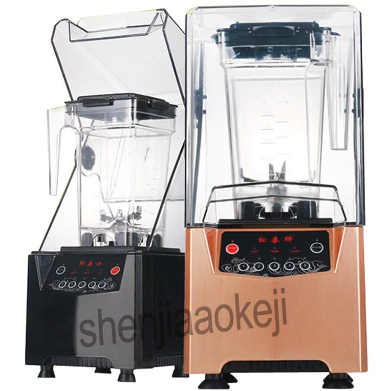 220 v 8800 w profissional resistente liquidificador juicer ice smoothie maker 2000ml misturador silencioso processador misturador comercial liquidificador quente