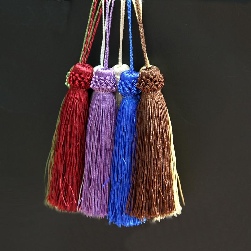 2Pcs/bag Mini Tassel Fringe Trim DIY Craft Tassels Hanging Pendant Sewing Room Accessory Jewelry Decoration Curtain Accessories