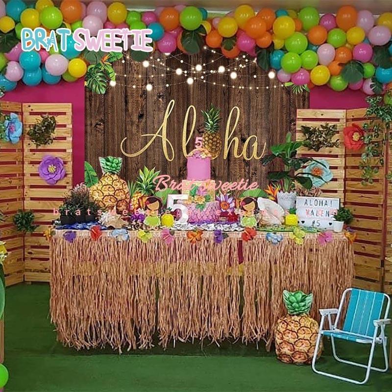 pool party garland Hawaiian tassel garland,luau tassel garland,neon fringe,cocktail party Hawaiian luau decoration,luau,swim party,garland