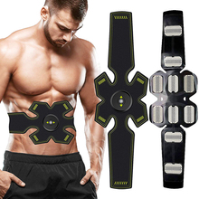 EMS Wireless Muscle Stimulator Trainer Body Slimming Belt Smart Fitness Abdominal Training Electric Weight Loss Stickers Unisex gel for ems muscle stimulator trainer smart fitness abdominal training electric weight loss stickers body slimming belt