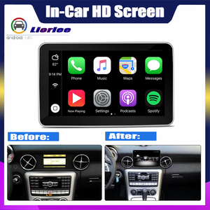 """Image 2 - 8.4"""" Android display For Mercedes Benz SLK Class R172 2010~2015 touch screen Car GPS Navigation stereo radio multimedia player"""