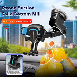 Hot Sucker Car Phone Holder Mobile Phone Holder Stand In Car No Magnetic GPS Mount Support For IPhone 11 XS X Pro Xiaomi Samsung