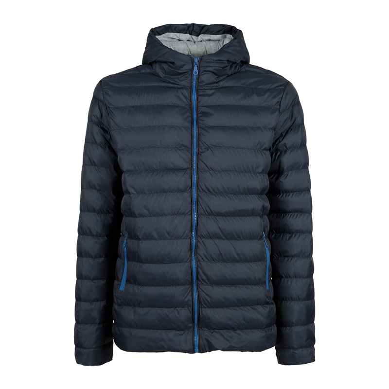 Athl DPT Hooded Padded Jacket-dark Blue
