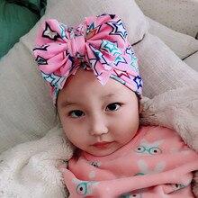 Kids Hat Bonnet Beanie Baby Toddler Turban Cap Headwraps Flower Soft Infant Lovely