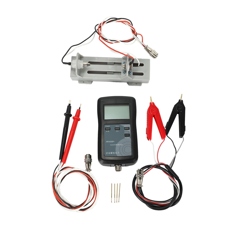 Beautiful Four-line Yr1035+ High-precision Lithium Battery Internal Resistance Meter Tester Quality Detector 18650 Dry Battery Aesthetic Appearance