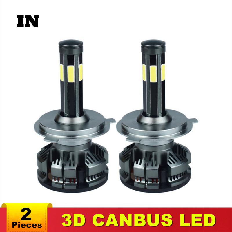 Canbus H11 H8 Led With No Error H4 Car Headlight Bulbs H7 LED H9 HB3 9005 HB4 9006 Lamp 6500K 12V 16000LM Auto Led  Fog Lights