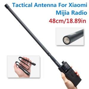 Image 1 - ABBREE SMA Female Dual Band 144/430Mhz Foldable CS Tactical Antenna For Xiaomi Mijia Smart Walkie Walkie Talkie Ham Radio