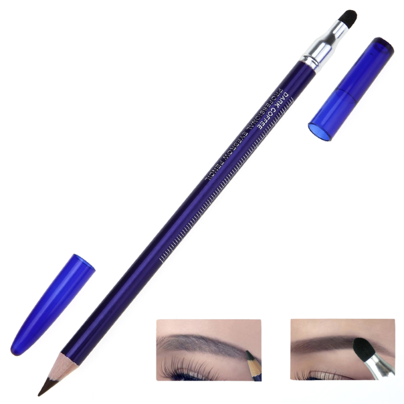 2pcs Waterproof Microblading Pen Permanent Makeup Tattoo Eyebrow Marker Pen Double-ended Positioning Pencil With Eraser