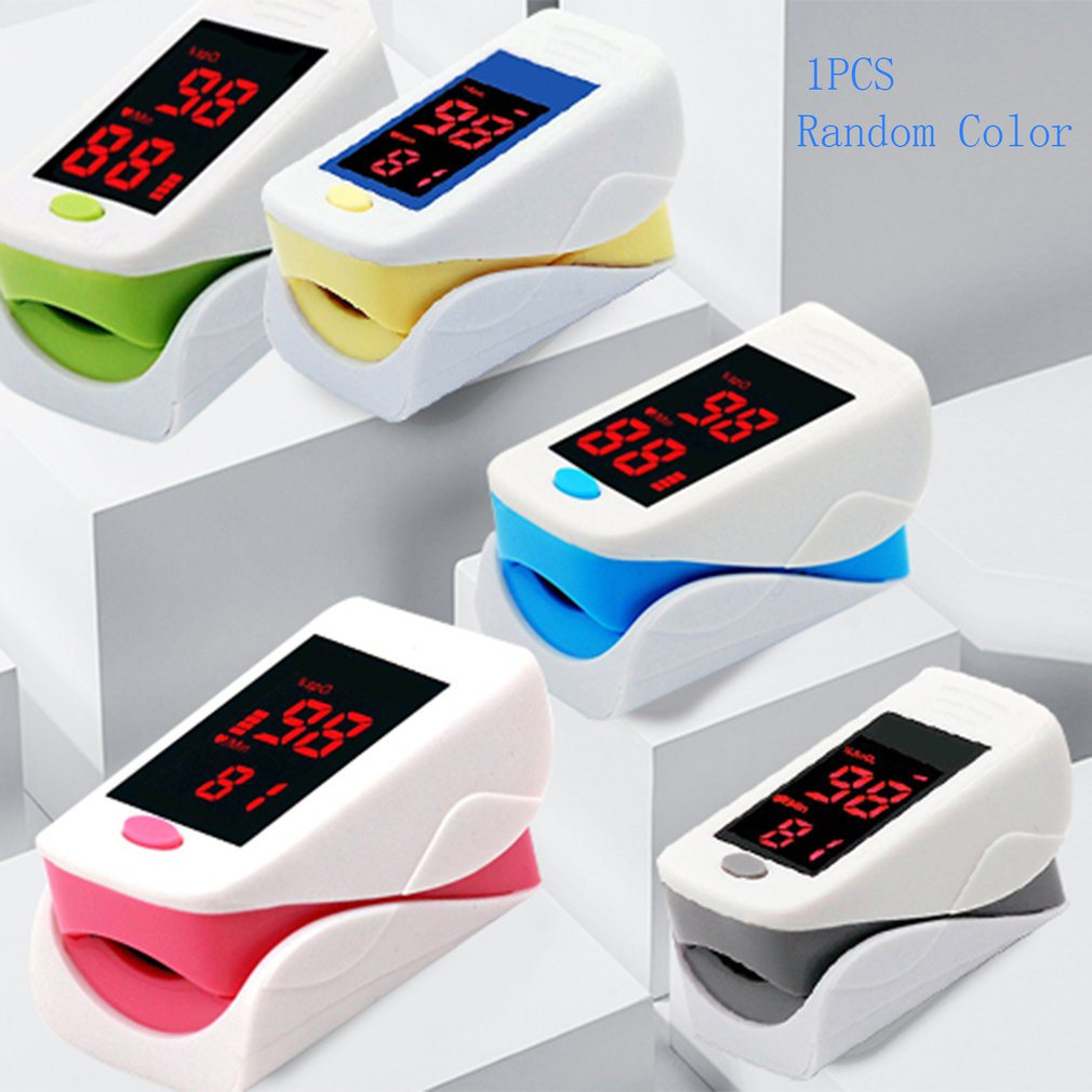 Display Finger Fingertip Blood Pulse Oximeter Heart Rate Monitor  Fingertip   Pulse  Oximeter Portable