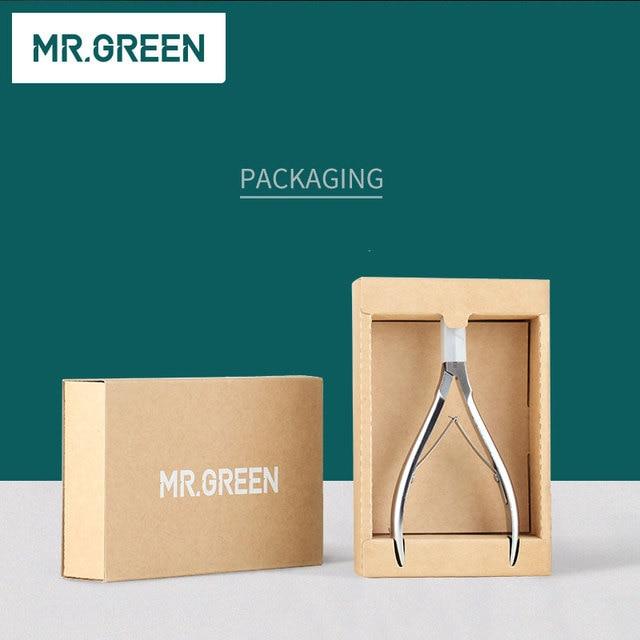 MR.GREEN Nail Clipper Cuticle Nipper Cutter Stainless Steel Pedicure Manicure Scissor Nail Tool For Trim Dead Skin Cuticle 6