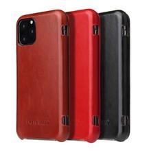 100% Chính Hãng Leanther Flip Cover Dành Cho iPhone 6 6S 7 8 Plus X XR XS Max 11 12 Pro SE Da Thật 2020 Không Dây Charing