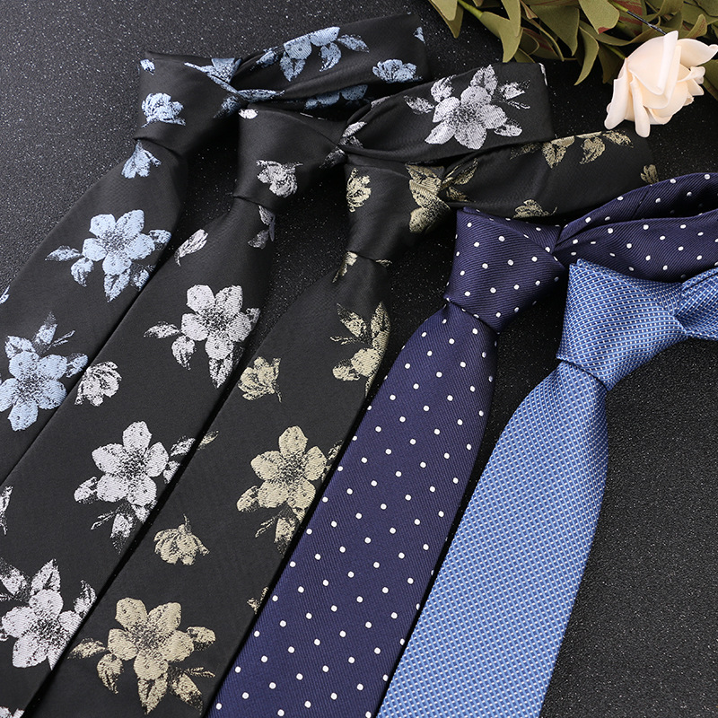 2020 New Fashion Striped Plaid Men's Tie Red Blue Grey Classic Neck Ties Leisure Business Wedding High Quality 7cm Silk Necktie