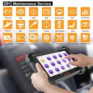 Image 3 - Autel Maxicom MK908 Code Reader Car Diagnostic Tool OBD2 Scanner Ferramentas Automotivas Para Carros Auto Scanner