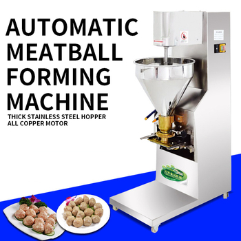 280kg/h Commercial Automatic Meatball Forming Machine Stainless Steel Meatball Forming Beef Ball Fish Ball Forming Machine 220v фото