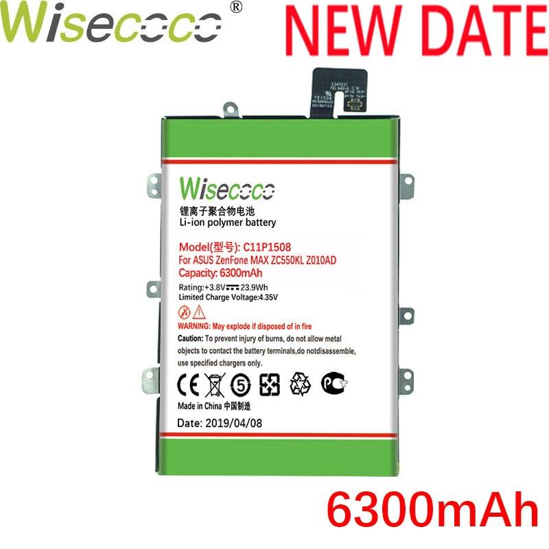 Wisecoco C11P1508 6300mAh Bateria Recentemente Produzido Com Frame Para ASUS Zenfone Max ZC550KL Z010AD Z010DD Z010D Z010DA Embutido
