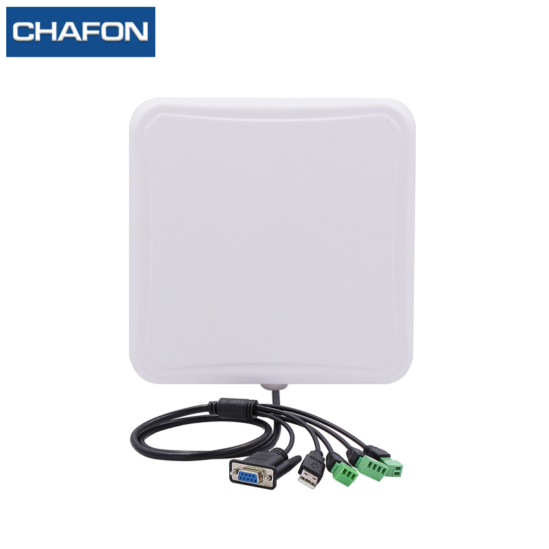 CHAFON 7m Small Integrated Reader Uhf Rfid USB RS232 WG26 RELAY IP66 Built-in 6dbi Antenna Free SDK For Car Parking Management