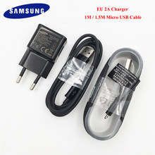 Micro USB Data Cable For Samsung Galaxy J4 J6 A6 Plus A7 J7 J3 J8 A2 Pro 2018 S6 S7 Edge Note 4 5 A3 A5 J5 2016 Travel Charger(China)