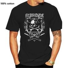 MARDUK 'Frontschwein Shield' T-SHIRT - Nuevo y Oficial Men Short Sleeves T Shirt Top Tee Basic Tops 100% Cotton