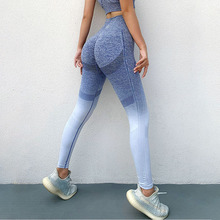 Leggings Women Sweatpant Work-Out High-Waist Push-Up Fitness Yoga SALSPOR Running Tie-Dye