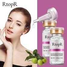 2PCS Olive Anti-wrinkle Hyaluronic Acid Anti-aging Moisturizing Face Serum White