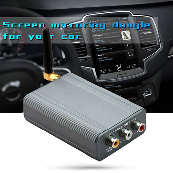 Car Wireless Wifi Mirror Link Box Support Youtube for IPhone 11 Pro X IOS Android Phone Screen Cast To HDMI AV TV HDTV Projector