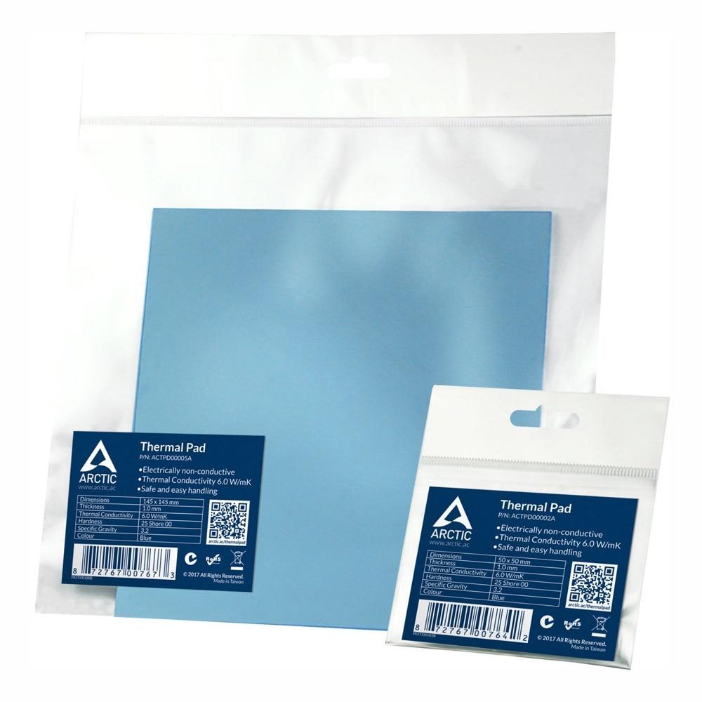 ARCTIC Thermal Pad 6 0 W mK 0 5mm 1 0mm 1 5mm Thermal Mat 50x50mm 145x145mm High Efficient Thermal Conductivity Thermal pad